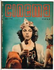 Cinema Cinema : quindicinale di divulgazione cinematografica (n° 132 dicembre 1941 - n° 156 dicembre 1942)