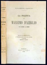La politica di Massimo d'Azeglio dal 1848 al 1859