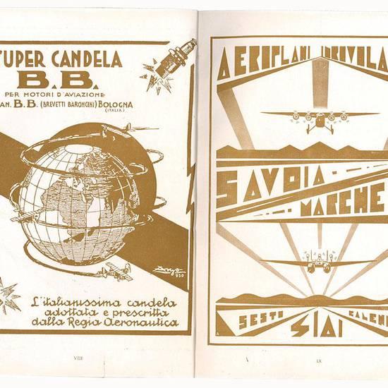 L'ala d'Italia Periodico nazionale dell'aviazione fascista. Ottobre Novembre 1936