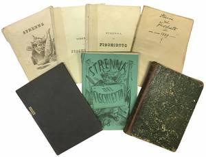 La strenna del Fischietto pel 1865, 1866, 1868, 1869, 1870, 1871, 1872, 1874.