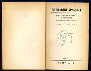 Narratori spagnoli. Raccolta di romanzi e racconti dalle origini ai nostri giorni.