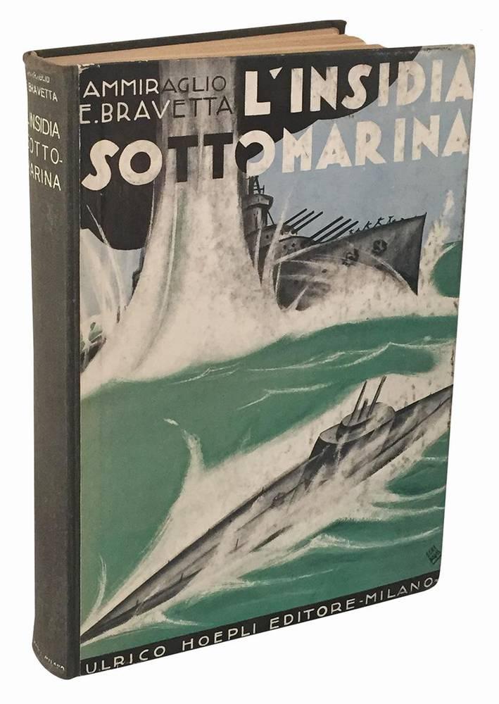 L'insidia sottomarina e come fu debellata. Con notizie sul ricupero delle navi affondate. Riedizione corredata con un Appendice dell'Autore 194 incisioni, 6 panorami e 12 tavole fuori testo.
