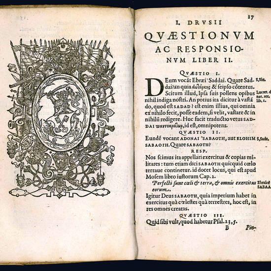Ebraicarum Quaestionum, sive, Quaestionum