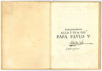 Lettera scritta dall'Italia