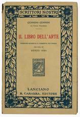 Il libro dell'arte edizione riveduta e corretta sui codici per cura di Renzo Simi