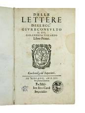 Delle lettere [...] libro primo [all published]