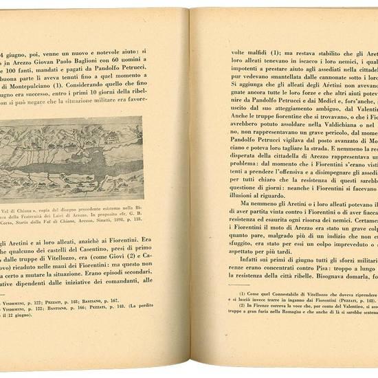 La ribellione di Arezzo del 1502