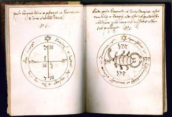 Pentacula Vel Sacra Sygnacula desumpta a Libro Sub tytulo Clavicula Salomonis