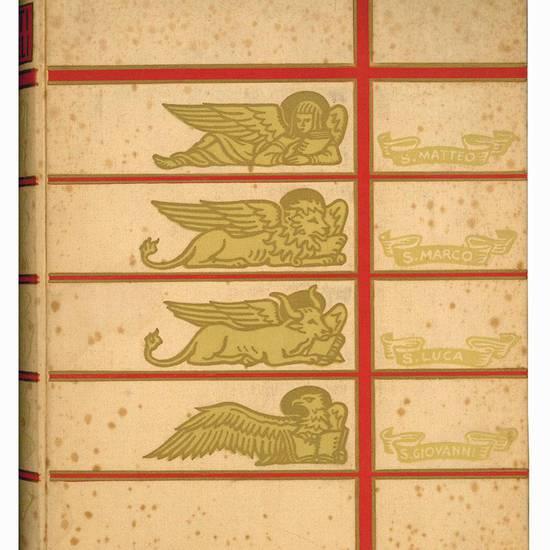 I Santi Evangeli. Illustrati con cinquantatre tavole di G. B. Galizzi; decorazioni del silografo Bruno da Osimo; testo con note, riveduto da mons. Gramatica.