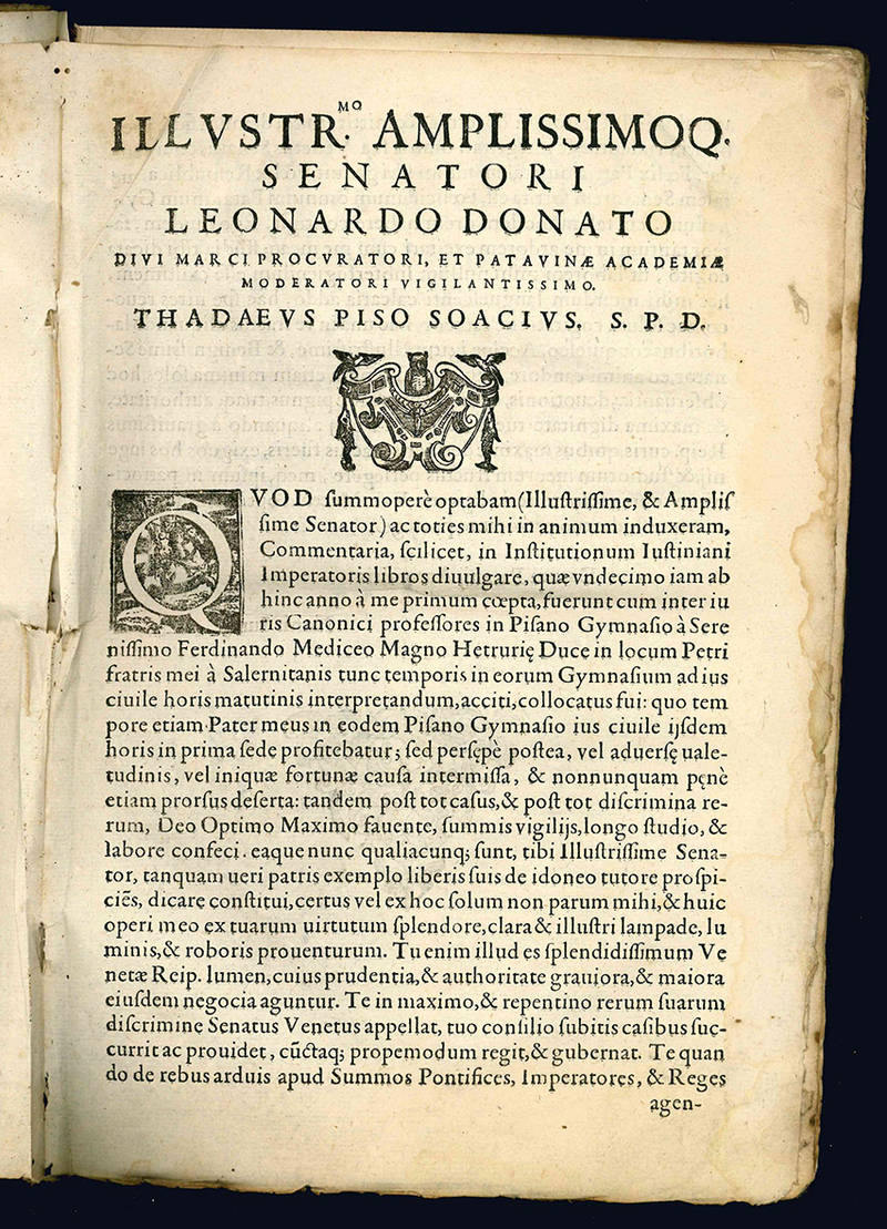 Commentaria in quatuor Institutionum Iustiniani imperatoris libros.