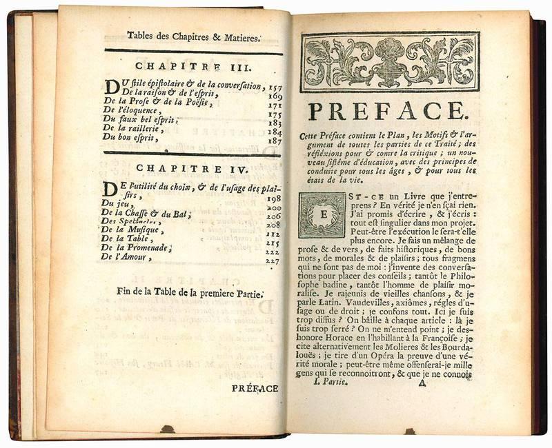 Traité du vrai mérite de l'homme considéré dans tous les ages & dans toutes les conditions: avec des principes d'éducation ... Nouvelle édition, revue, corrigé & considérablement augmentée par l'Auteur. Tome premiere (-second).
