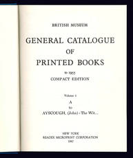 General catalogue of printed books to 1955.