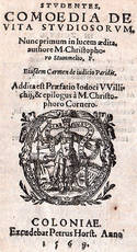 Studentes, comoedia de vita studiosorum