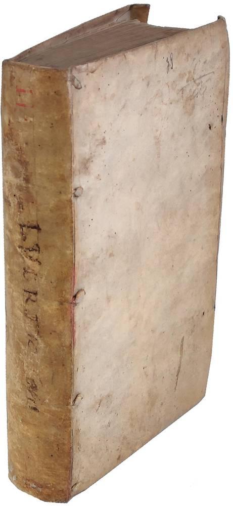 De rerum natura libri sex, mendis innumerabilibus liberati; & in pristinum paenè, veterum potissimè librorum ope ac fide, ab Oberto Gifanio Burano iuris studioso, restituti [?]