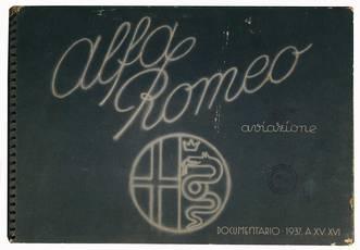 Alfa Romeo aviazione. Documentario 1937 A. XV.XVI