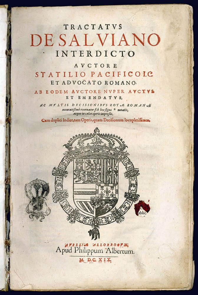 Tractatus de Salviano interdicto.