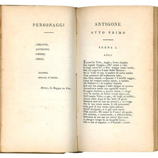 Tragedie di Vittorio Alfieri da Asti. Vol. I. (-II.).