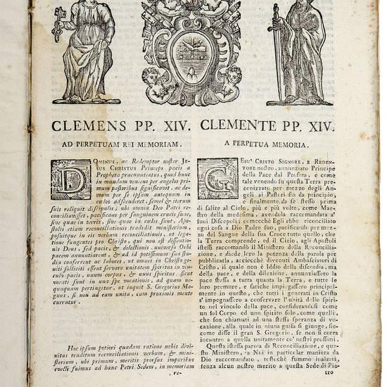 Clemens PP. XIV. Ad perpetuam rei memoriam. Dominus, ac Redemptor…