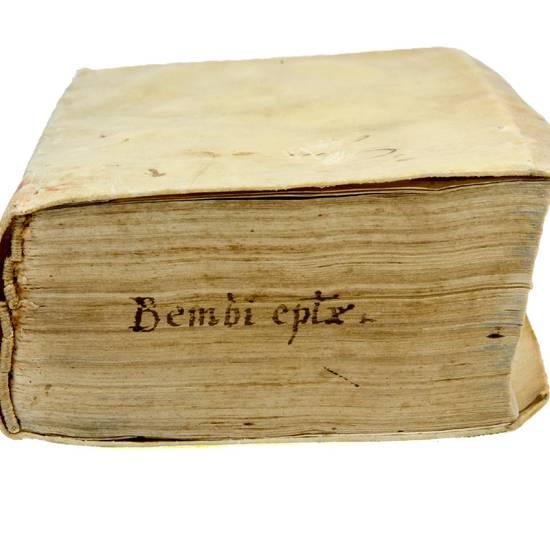 Epistolarum familiarium, libri VI. Eiusdem, Leonis X. Pont. Max. nomine scriptarum, lib. XVI