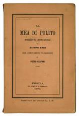 La Mea di Polito. Poemetto montanino.