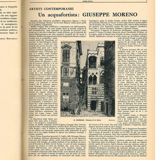 """Lotto di dodici numeri de """"abc Rivista d'arte"""". Anno V - N. 1-12 (annata completa 1936)."""