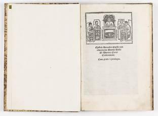 Epistole Heroides Ovidii cum commentaris Antonii Volsci et Ubertini clerici Cresentinatis