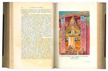 Trans-Himalaja. Scoperte ed avventure nel Tibet. Con 403 incisioni da fotografie e da acquarelli e disegni dell'autore, e con 10 carte. Volume primo (-secondo).