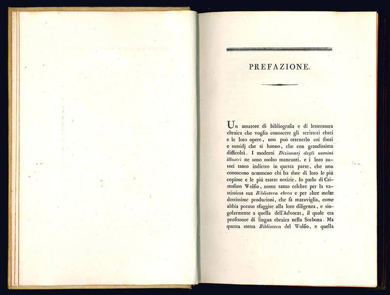 Dizionario storico degli autori ebrei e delle loro opere.