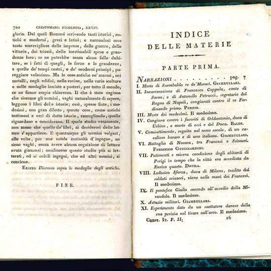 Crestomazia italiana in prosa