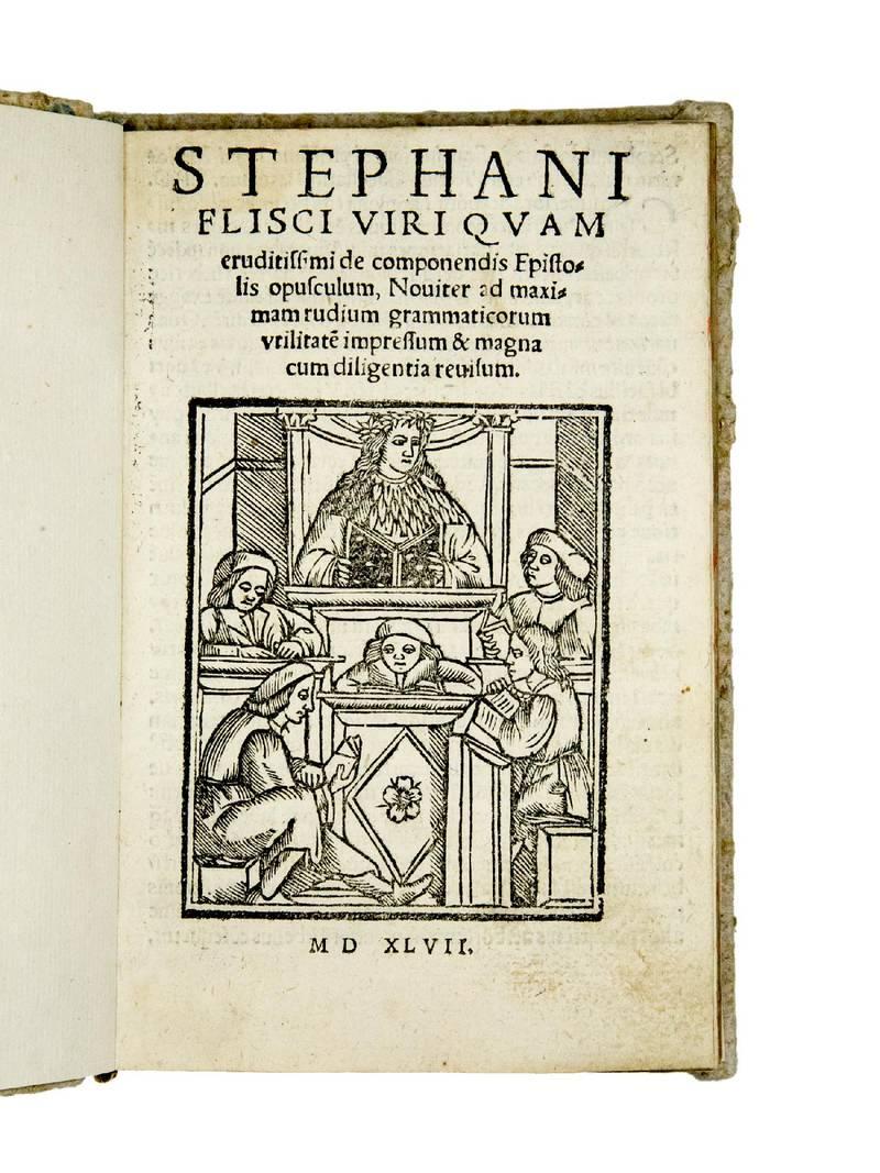 De componendis Epistolis opusculum, Noviter ad maximam rudium grammaticorum utilitate(m) impressum & magna cum diligentia revisum