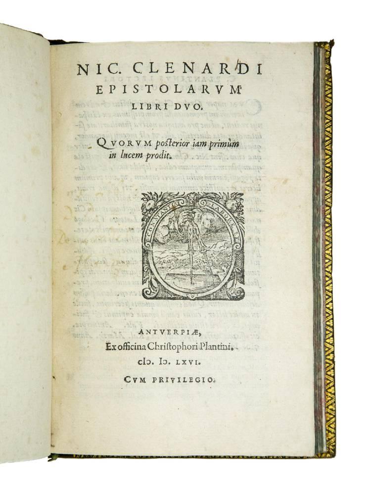 Epistolarum libri duo