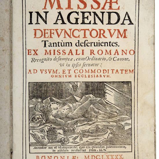 MISSAE in agenda defunctorum
