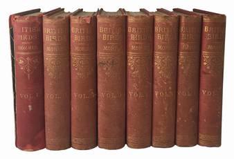 History of British birds. Vol. I (-VIII).