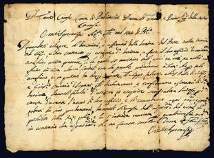 Lettera autografa. 8 settembre 1689.