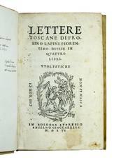 Lettere toscane [...] divise in quattro libri