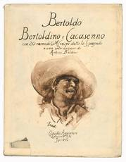 Bertoldo con Bertoldino e Cacasenno. Illustrati con venti incisioni in rame di Giuseppe M. Crespi (detto lo Spagnolo) e con una introduzione di Antonio Baldini.