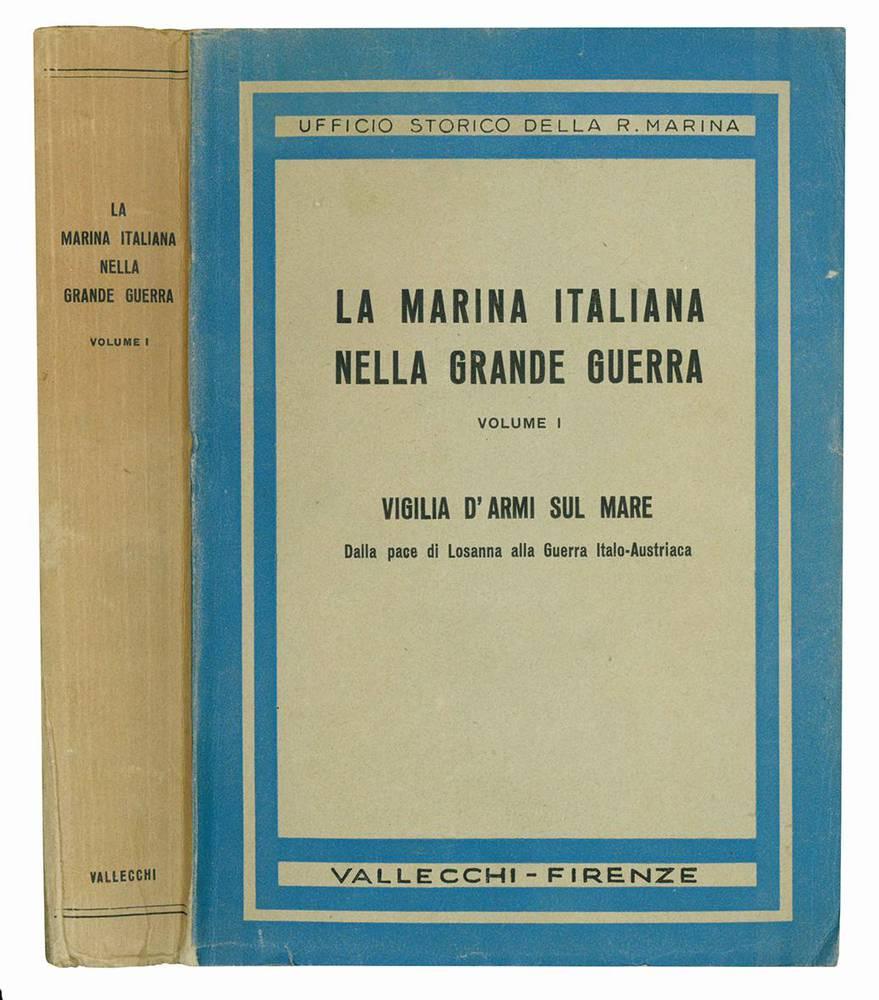 La marina italiana nella grande guerra. Volume I (-VIII).