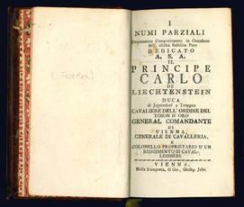Miscellanea contenente quattro rari libretti per musica