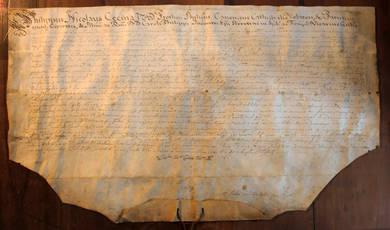Documento manoscritto.