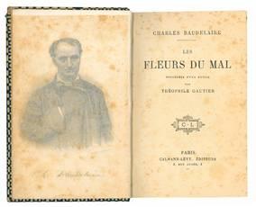 Les fleurs du mal precedees d'une notice par Theophile Gautier.