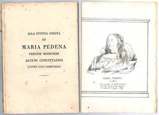 Alla invitta onestà di Maria Pédena