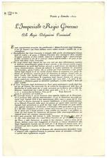 Modello per conto preventivo dello Stabilimento degli Esposti, delle Partorienti, de' Pazzi.