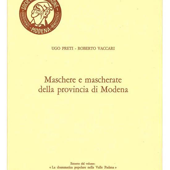 Maschere e mascherate della provincia di Modena.