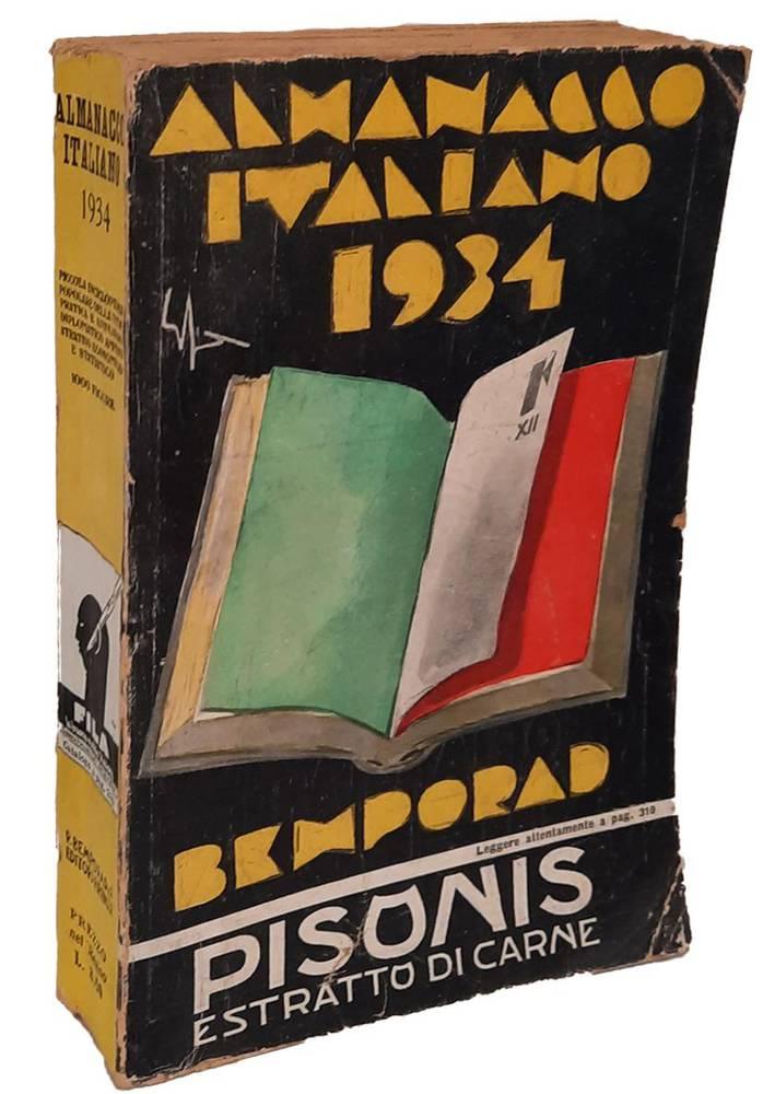 7 volumi Almanacco Italiano. Piccola enciclopedia popolare della vita pratica, e annuario diplomatico, amministrativo e statistico. Annate (1899-1919-1920-1926-1934-1939-1942)