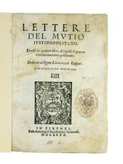 Lettere [...] Divise in quattro libri, de? quali il quarto vien nuovamente publicato. Dedicate al Signor Lodovico Capponi
