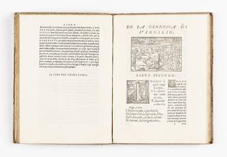 La Georgica di Virgilio, nuovamente di latina in thoscana favella, per Bernardino Daniello tradotta, e commentata