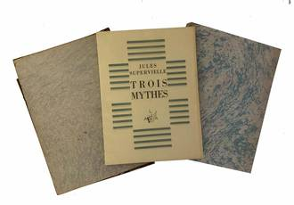 Trois mythes avec un bois de Pierre Falké en frontispice