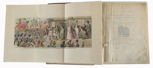A history of parliamentary elections and electioneering in the old days. Showing the State of Political Parties and Party Warfare at the Hustings and in the House of Commons from the Stuarts to Queen Victoria