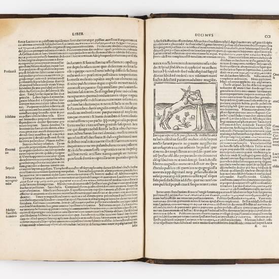 Apuleius cum commento Beroaldi & figuris noviter additis