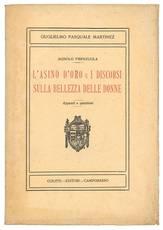 L'asino d'oro e I discorsi sulla Bellezza delle Donne, di Agnolo Firenzuola. Appunti e questioni